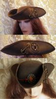 Steampunk-pirate hat PCSH21 by JanuaryGuest