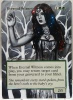 Magic Alteration: Eternal Witness 2/7/15 by Ondal-the-Fool