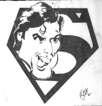 Superman by Bashbrother