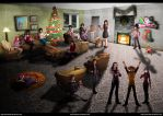 Biggest Christmas Collab 2014 by Yamineftis