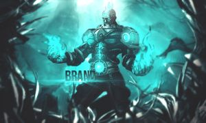 Brand - League of Legends by ariey99