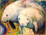 Manatees by kecen