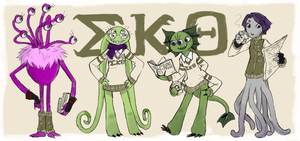 OC - MU: the EKO Sororities by Mossygator
