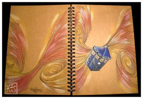 Tardis sketchbook by AutumnPendullum