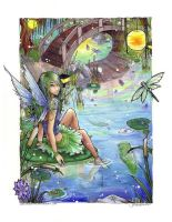 Fairy pond by JACKIEthePIRATE