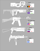 SMG's and PDW's by Sapphire-industries