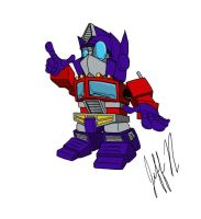 Chibi Prime Colored by JINAO