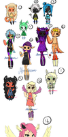Big Batch Of Adopts - Leftovers - {Open} by Moonbeam-chan