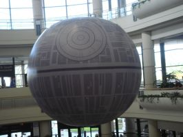 Balloon Death Star by KermitLGonzalez