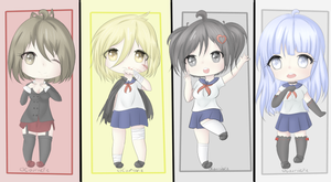 Yandere Simulator Chibi Rivals Part 3 by CourtiePie567