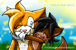 Rq - Milo and Tails by SilverAlchemist09