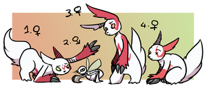 PKMNN - Zangoose X Nincada Clutch (SOLD) by Thalateya