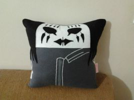 Handmade Slipknot Band Joey Jordison Pillow by RbitencourtUSA