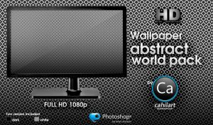 Abstrac World Wallpaper Pack by CaHilART