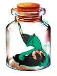 Kuki in a bottle by digi775
