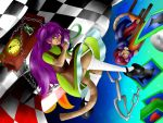 Charmx and Xhosa in wonderland by kayles-jabberwock