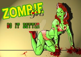 Zombie Girls do it better by boneshaker-baby