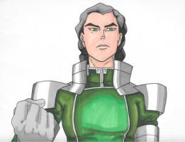 Kuvira The Great Uniter by PDInk