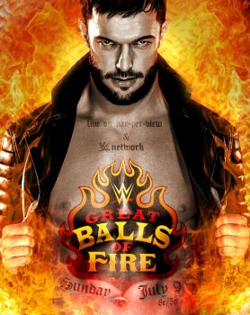 WWE Great Balls Of Fire 2017 Poster by CRISPY6664