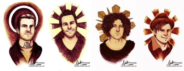Holy FOB art, batman by AlekInexelsis