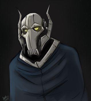 Grievous Portrait by DingoTK
