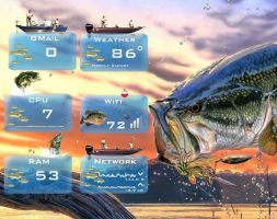 Outdoor Living - Fishing - for Rainmeter 1.0 by ionstorm01