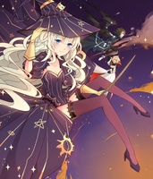 Dragon Nest: Happy Halloween from The Sweet Three by camikawaii