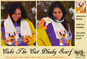 Fionna and Cake Adventure Time Scarf by KeybladeFoxsquirrel