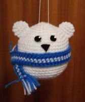 Crochet Polar Bear by HaleyGeorge