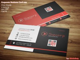Corporate Business Card 009 by khaledzz9