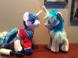 Imageshining armor and manna by Littlestplushoppe