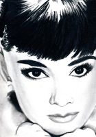 Audrey Hepburn by LCArtDesign