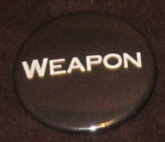 'Weapon' button by BlackUnicornWood