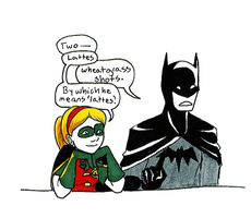 Batman and Robin by Batfee