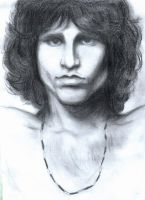Jim Morrison by JuliaLenn