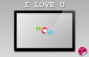 i love u by h2okerim
