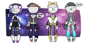Outfit Adoptables [CLOSED] by UnpopularGeek