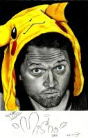 Misha Collins by MeRoMaNaR