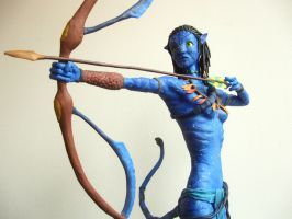Avatar-Neytiri Sculpture 4of6 by Lequi