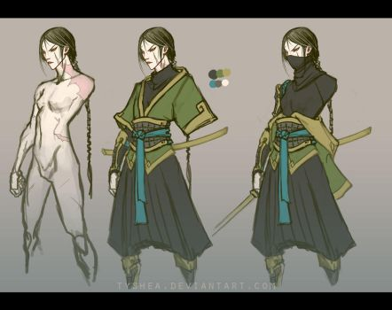 A:CtS Character Study [KYE] by Dyemelikeasunset