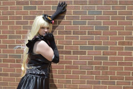 Mayu Vocaloid Cosplay by luckybirdy4