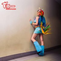 MLP Rainbow Dash Cosplay by Tiffany Dean by BabyGirlFallenAngel