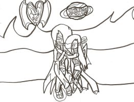 Young Love: Planet: Uncoloured by xxxBrokenSoulxxx