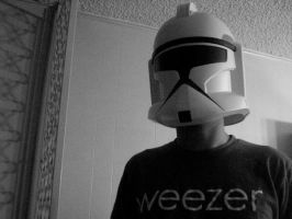 Clonetroopers listen to Weezer by anna-beth