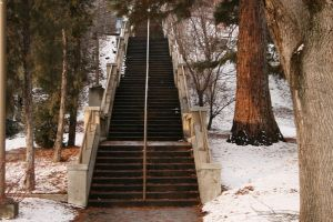 Stairway to...? 1 by AmbiePetals-Stock