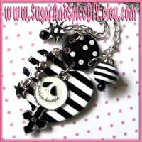 Jack Skellington Necklace II by SugarAndSpiceDIY