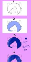 Shushi Hair Tutorial by ShushiKitty