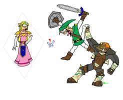 Legend of zelda....wedgie by Puma-loco