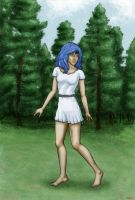 Io Wanders in the Forest by CandideTF