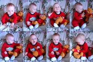 Christmas series - Boy + Bear by ArtistStock